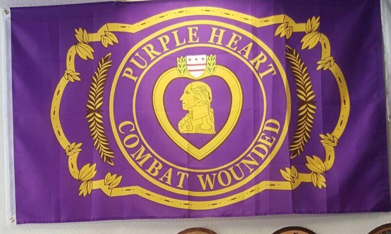 Purple Heart Flag
