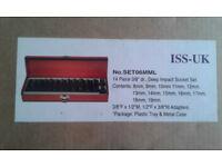 socket set 3/8 ISS-UK