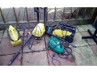 Job lot of karcher pressure washers spares or repair