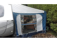 pyramid corsican 975 to1050cm caravan awning ideal for all year