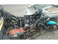 2x Kawasaki gt550 trikes