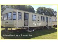 ASHCROFT COAST: 3-bed Static Caravan for Holiday Lets