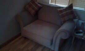 Cuddle chair. Excellent condition. 4 months old. Looks too big in my snug.