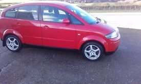 ***2005 AUDI A2 SPECIAL EDITION 1.4 PETROL 67000 WARRANTED MILES ***