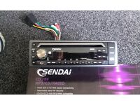 sendai cd789 its a mp3/CD/ radio. its in excellent condition it comes with everything shown
