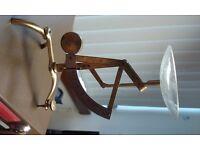 Vintage Pendulum Brass Pendulum Postal Letter Scale, Germany, Depose