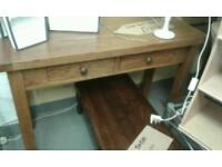 Wonderful solid oak hall stand with drawer as new condition £135.00
