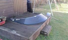 Speed boat flexible windscreen for sale £50