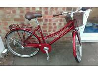 Ladies Dutch style town bike