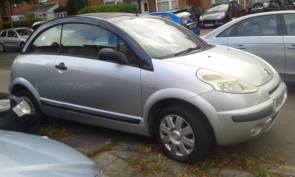 CITROEN C3 PLURIEL 2004 SILVER ONLY 44,000 MILES STARTS AND DRIVES GREAT PART EXCHANGE WELCOME