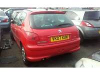 Peugeot 206 For Breaking/Spares