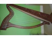 Lever harp 36 string