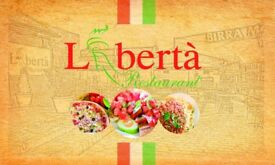 Waiting Staff with experience needed ASAP Liberta Restaurant