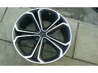 "1x Single Genuine GM Vauxhall Astra zafira 20"" alloy wheel 5 x 115 20x8.5 et41 bi colour."