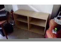 Ikea TV stand / Book Shelf