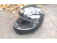 MOTOR BIKE HELMET - RST - BLACK