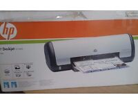 HP DESKJET D1460 PRINTER in box with Reference Guide