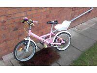 Girls bike from decathlon