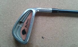King Graphite Golf clubs- Irons 3 through to sand wedge