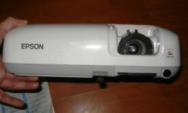 epson eb-x6 projector, remote and leads.