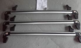 GENUINE FORD TRANSIT CUSTOM FOLD DOWN ROOFBARS
