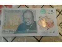New five pound