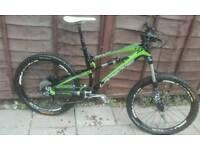 Full Carbon fibre Lapierre Zesty 514 full suspension mountain bike for sale  Bristol