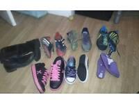 Adult junior size 3 4 5 footwear bundle