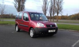2007 fiat doblo 1.4 petrol wheelchair accessible f/s/h