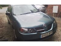 Nissan Almera: Low Mileage, 3 owners, 10 months MOT, great working car.