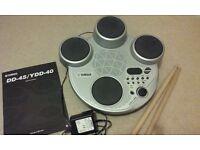 Digital percussion - Yamaha DD-45/YDD-40 portable drum kit. REDUCED TO £20