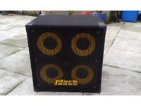 Markbass Standard 104 HR 800W 4x10 Bass Cab, 8 Ohm Italian made