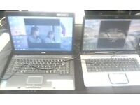 VARIOUS LAPTOPS ACER-HP-SONY- WITH OR WITHOUT CAMERAS IN WORKING CONDITION AVAILABLE FOR SALE