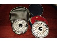 Ryobi fly fishing reels & rods selection of flys with game bag