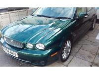 British Racing Green X Type Jag (6 month warranty included!!)