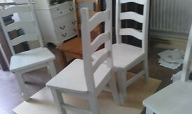 DINING CHAIRS X 6 SHABBY CHIC PROJECT?