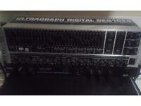 Behringer Ultragraph Digital DEQ1024 + Behringer Composer Pro XL MDX2600 +Yamaha rev100