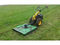 """BCS Pasqual 2 Wheel Tractor With 30"""" Cut Topper"""