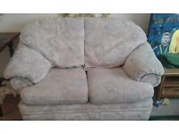 3 piece sofa for sale at £90, including one 3-seater, one 2-seater, & a 1-seater