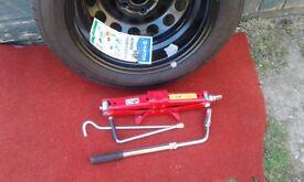 Skoda Yeti Full size Spare Wheel