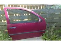 Mk4 golf drivers side door