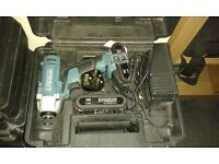 ERBAUER 18V CORDLESS IMPACT DRIVER & 2 BATTERYS CHARGER & CASE