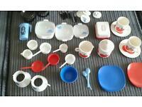 Vintage child's kitchen/tea set accessories bargain