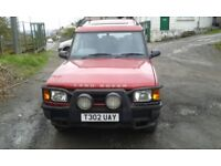 Land Rover Discovery 3.9L V8