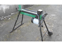 Log Splitter 5 ton electric. New Motor. Not used only to test.