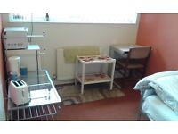 MAJESTIC DOUBLE ROOM £350PM/£100DEP, OFF GIPSY LANE LE4 7BZ,FOR MATURE WORKING TENANT OR COUPLE