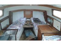 Snapdragon 23 sailing boat / yacht ,cornwall.