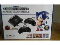 Sega Games consol.