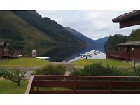 Luxury 3 Bedroom Lodge / Cabin for sale Lock Eck, Dunoon -Comes with boat mooring and fishing rights
