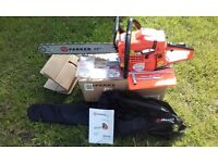 """brand new chainsaw £65 58cc 20"""" bar and chain"""